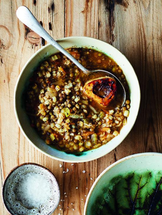 Barley & Lentil Soup