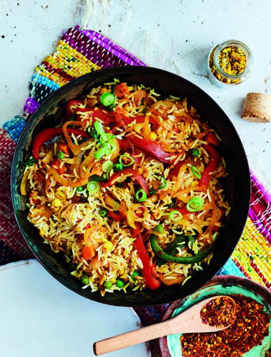 Savoury Rice / Gesmoorde Rys