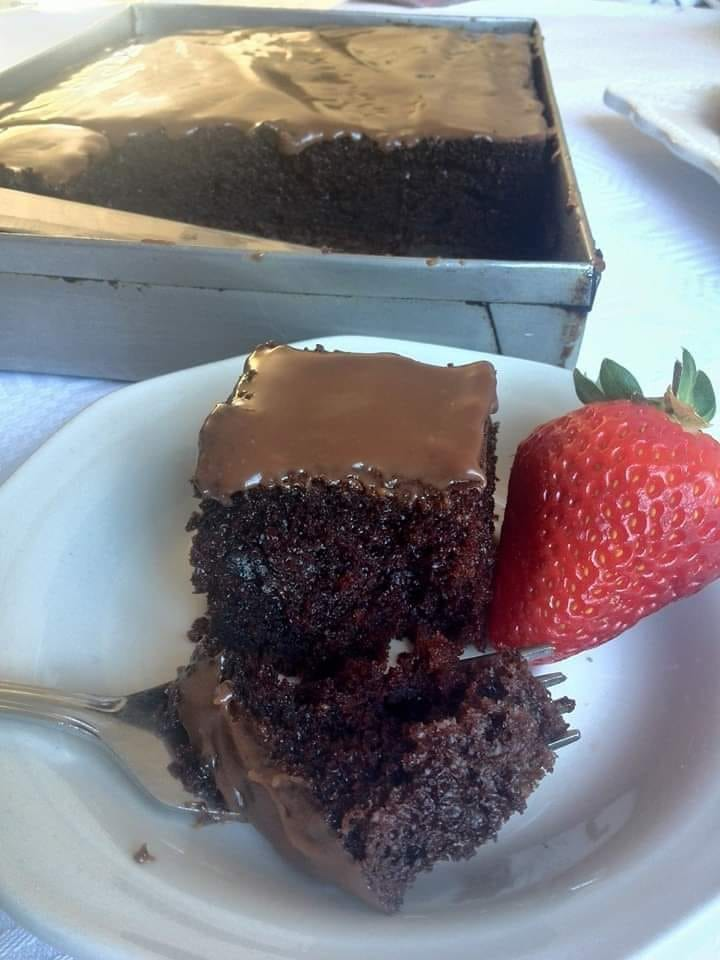 Chocolate Slab Cake