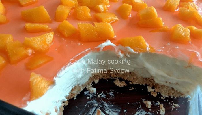 Mango Cheesecake (No bake)