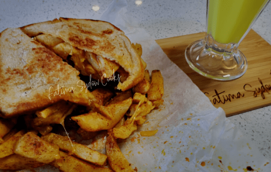 Toasted Masala Steak Sandwich